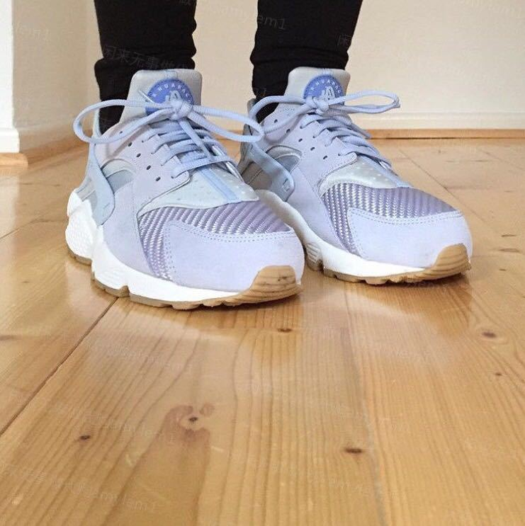 nike air huarache run men TXT Porpoise
